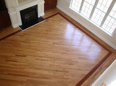 Strong and reliable hardwood flooring installation hardwood flooring designs hardwood floors with borders design ideas, pictures, remodel, and decor VZVIAAH
