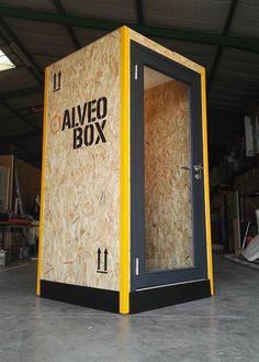 AlveoBox - la première PhoneBox dédiée aux espaces de coworking & entreprises #officedesign