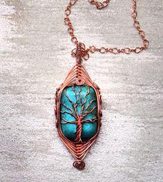 Copper with herringbone weave