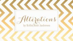 White and Gold Chevron Sewing and Alterations Business Cards http://www.zazzle.com/gold_chevron_business_card_template-240881862806595414?rf=238835258815790439&tc=GBCSewing1Pin