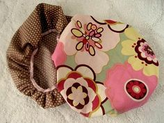 Sew A Simple Shower Cap | Eeny Meeny & Moe