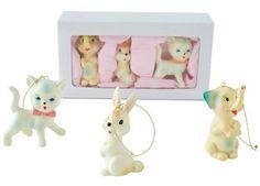 set van 3 nostalgische dierenhangers Pakhuis Oost | kinderen-shop Kleine Zebra