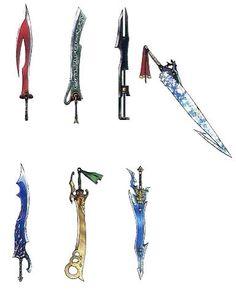 FFX : Titus's swords.