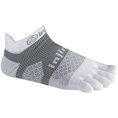 Wiggle Socks From Cerkos: Toe Socks For Men, Toe Separator Socks, Five Finger Socks, 5 Toe Socks, 5 Finger Socks, Toe Shoe Socks For Men (Blue, Grey & Black Wiggle Socks)