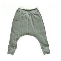Kids Harem Pants / Leggings Organic cotton Jersey by TaluliStudio