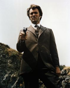 """Dirty Harry, from the """"Dirty Harry""""-series."""