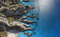 """""""Aerial view, Capo Vaticano"""" from Michael Passe by Calm - style your new tab"""