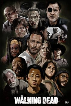 The Walking Dead Fan Art Print by Ninth Branch Walking Dead Zombies, Carl The Walking Dead, The Walk Dead, Walking Dead Fan Art, Walking Dead Show, Walking Dead Tv Series, The Walking Dead Poster, Walking Dead Wallpaper, Daryl Dixon