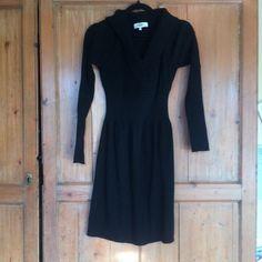 Tibi shawl collar sweater dress 100% merino wool Tibi Dresses