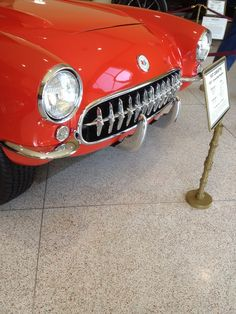 Great Chevy Corvette Grill (Nethercutt Museum in Sylmar Ca)