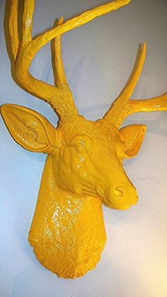 Wall stag. There will probably be something similar to this in our house one day!