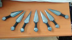 LARP Safe throwing dagger US$6.65 (each) by MunchkinCrafts on Etsy