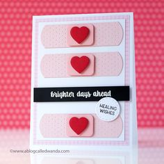 Brighter Days Ahead Card by Wanda Guess for Papertrey Ink (December 2017)