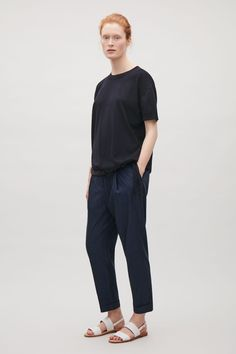 COS | Knitted drawstring top