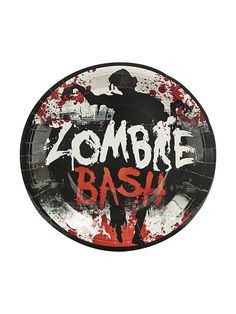 "Zombie Party 9"" Dinner Plates 