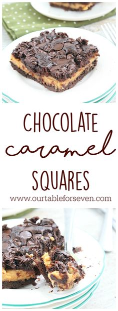 Chocolate Caramel Sq