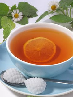Adding lemon to your tea reduces the drink's bitterness and increases your body's absorption of antioxidants. And, you can use lemon to soothe sunburn! Read 3 other uses for this fantastic citrus fruit.