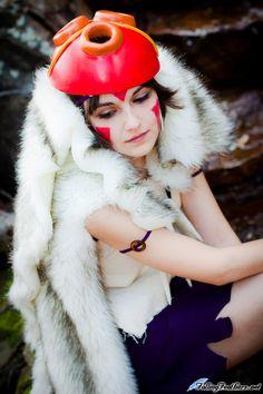 mononoke cosplay | Princesa Mononoke cosplay | CoolGeeks!