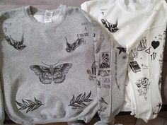 Harry Styles Tatoo Sweatshirt. All One Direction Fans Come And Get Your Harry Styles And Louis Tomlinson Tatoo Shirts