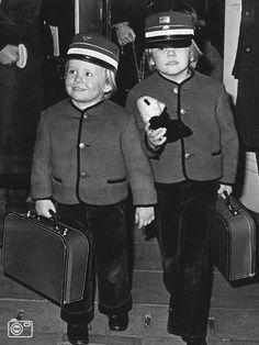 Prins Willem Alexander en prins Friso