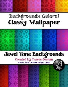 Classy Wallpaper Digital Paper Background for Commercial Use - priced