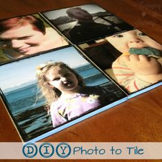 Father's Day Craft? | DIY Photo to Tile