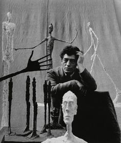 """I paint and sculpt to get a grip on reality… to protect myself."" - Alberto Giacometti"