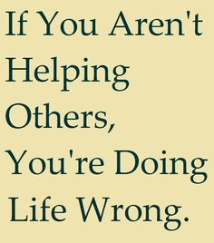 """Agreed! I am so tired of people expectation """"help"""" but not willing to be there when you need them."""