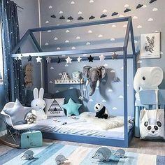 Uroczy kącik w pokoju dziecięcym