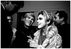 Andy Warhol and Edie Sedgwick by Steve Schapiro, 1965