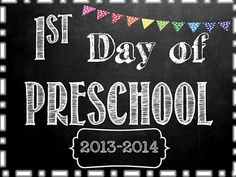 First and Last Day of School Signs! FREE thru Monday, September 2nd. Preschool-Grade 12. Print them now and save in frame to use throughout your child's schooling :) They are also editable so you can add the year to each one. :)