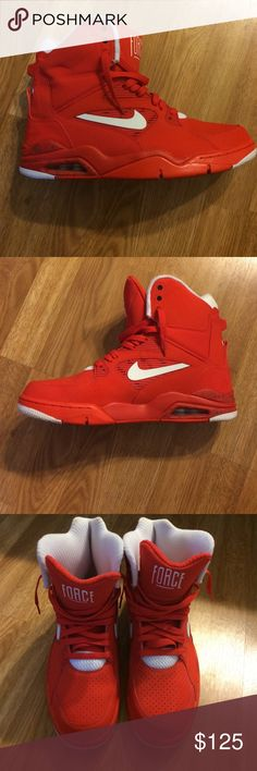 Nike Air Command Force Very cool sneaker. Higher then a normal high top. Worn one time. Basically brand new Nike Shoes Sneakers