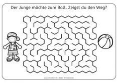 Mazes to Print - Medium Crossover Mazes | Fun Kid Printables ...