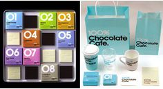 Lovely packaging: The 100% Chocolate Cafe is a well thought cafe, from the entrance to interior, the food (chocolate ) and packaging, marketing to branding, every single details are carefully thought of.