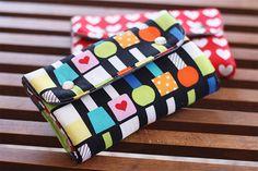 noodlehead: snappy manicure wallet - free pattern