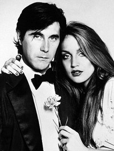 Bryan Ferry & Jerry Hall, 1976