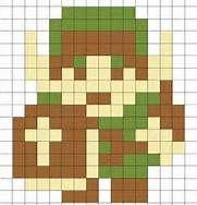 crochet 8-bit zelda blanket - Bing Images