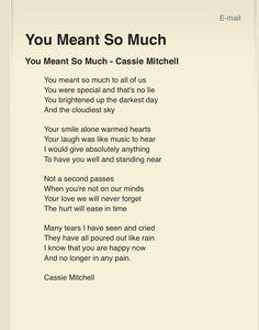 Funeral poems - Missing Quotes QUOTATION Image As the quote says Description Funeral Poems And Quotes Funeral Poems For Nan, Funeral Quotes, Funeral Verses, Funeral Ideas, Funeral Eulogy, Funeral Prayers, Funeral Planning, Dad Poems, Grief Poems