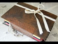 ▶ Greeting Card Memory Book - Project Share - YouTube