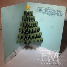 Stamp & Scrap with Frenchie: 3-D Christmas Tree stampin'Up! catalog page 181