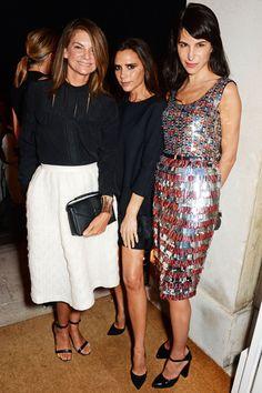 London Fashion Week Front Row   Harper's Bazaar