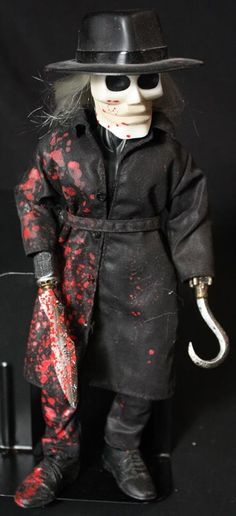 Evil comes in all sizes.  Blade Doll from the Movie Puppet Master  www.warpzoneonline.com