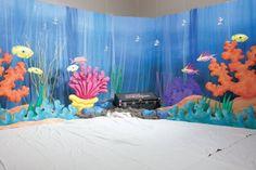 Pinterest+VBS+Under+the+Star   Under the sea hallway?