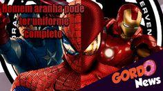 Capitão America Guerra Civil - Homem Aranha com uniforme completo será?