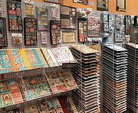 Shop unique craft & scrapbook supplies, yarn, terrarium & fairy garden miniatures, take classes, party rental space, and visit our artisan boutique!