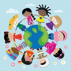 #NEW #iOS #APP Happy Meitlis Around the World iMessage Stickers - Danja Krampikowski