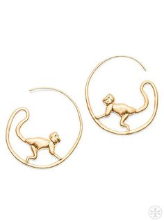 Spring 2015 Runway Exclusive: The Monkey Hoop Earring