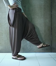 Clothing, Shoes & Accessories Objective Erc65 Gypsy Hippie Aladdin Baggy Genie Hammer Tribal Trouser Women Menpants Choice Materials Women's Clothing