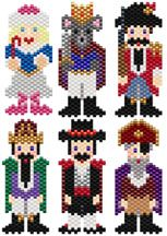 The Nutcracker Pattern Collection by Sigrid Wynne-Evans - Item Number 15553 at Bead-Patterns.com
