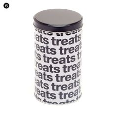 Harry Barker Helvetica Treat Jars available from Domestic Beast